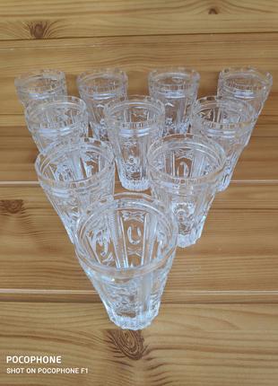 Винтажный набор стаканов