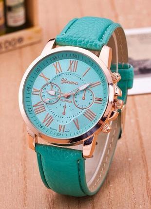 Часы наручные женские зеленые