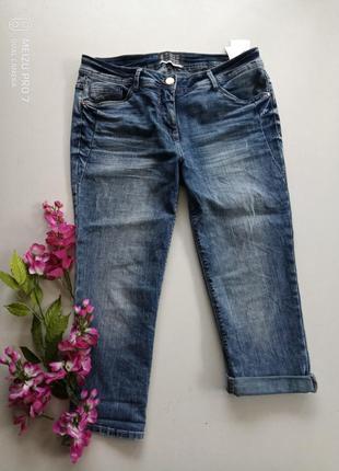 Фирменние джинсовие бриджи от немецкого бренда cecil xl-2xl