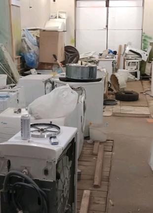 Продажа бу стиральных машин и комплектующих