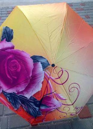 Хит! зонт наоборот, зонт обратного сложения, ветрозащитный зонт