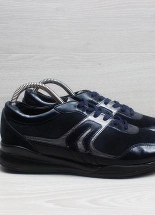 Кожаные женские кроссовки geox respira оригинал, размер 39
