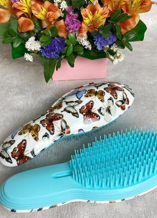 """Расческа для распутывания волос """"бабочки"""" (большая) к.16049"""