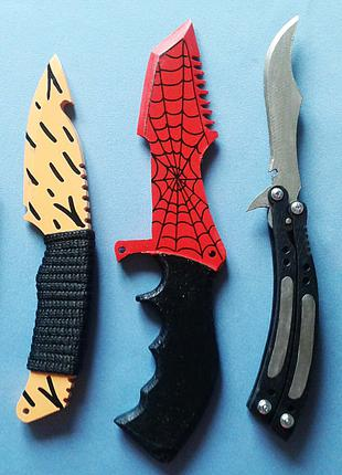 Набор из 5 сувенирных ножей из игры СS:GO