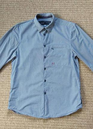 Armani jeans рубашка оригинал (m-l)