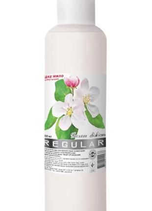 Косметическое жидкое мыло Regular Весенняя свежесть 1литр.