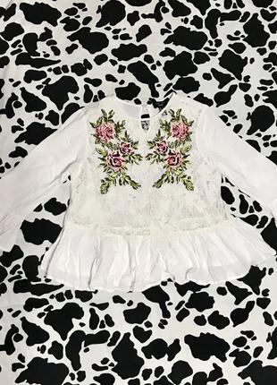Вышиванка рубашка блузка вискоза