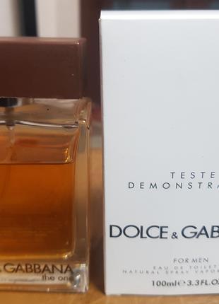 Туалетная вода Dolce & Gabbana The One For Men 100 мл Тестер