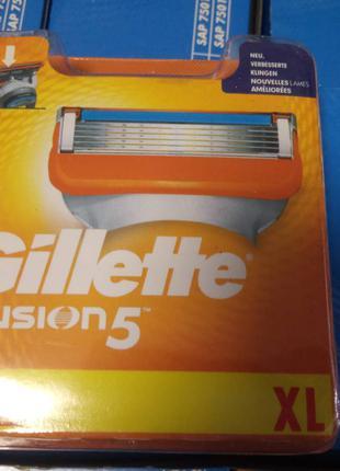 Скидка -35% Gillette FUSION  8 Оригинал