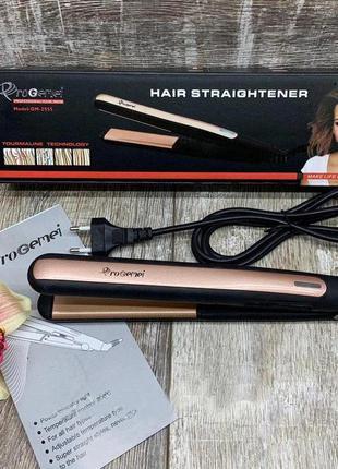Утюжок для выпрямления волос с турмалиновым покрытием