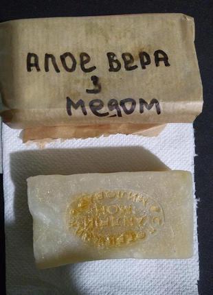 Мыло с алое вера и медом
