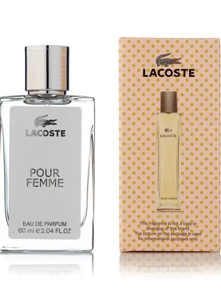 Женский парфюм  Lacoste Pour Femme  -60 мл