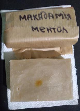 Мыло макадамия и ментол