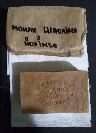 Мыло монах Шаолиня с йохимбе
