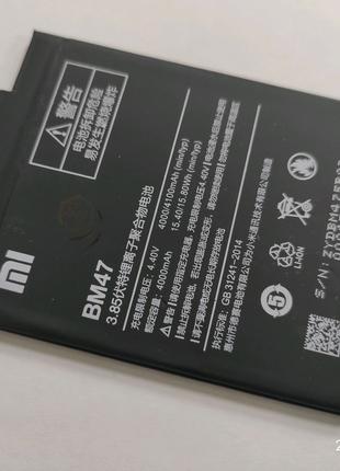 Батарея Xiaomi Redmi 3 3s 3x 3Pro 4000mAh BM47