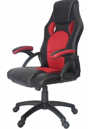 Кресло компьютерное игровое или офисное Home Fest OSKAR красное