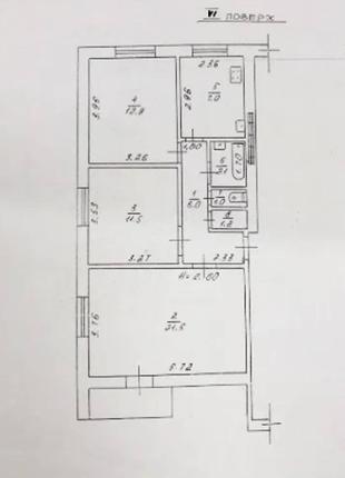 3 ком квартира на Адмиральском проспекте