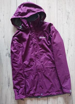 Куртка ветровка дождевик berghaus aq2 размер uk 10 наш 44-46