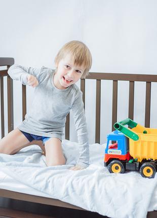 Детская кроватка трансформер с маятником + матрас со скидкой 20%