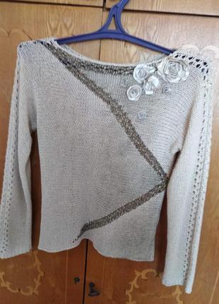 Нарядная блузка (свитерок)