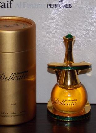 Арабские масляные духи без спирта delicate (деликейт ) от al h...
