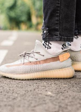 Adidas yeezy boost 350 grey ✰ женские кроссовки ✰ серого цвета 😻