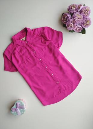 Sale   рубашка бойфренд с коротким рукавом от hollister