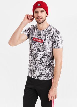 Мужская футболка lc waikiki / лс вайкики local rules