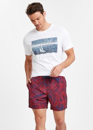 Белая мужская футболка lc waikiki / лс вайкики sailing offshor...