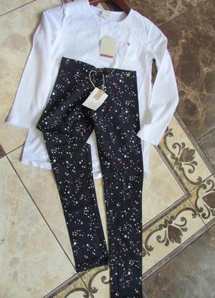 Zara комплект для дівчинки, трикотажна кофта - лосины