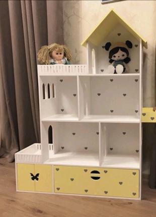 Домик для кукол барби, игровой домик, кукольный домик