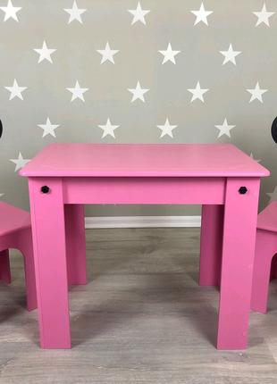 Стол и 2 стульчика, детский столик, детский стульчик