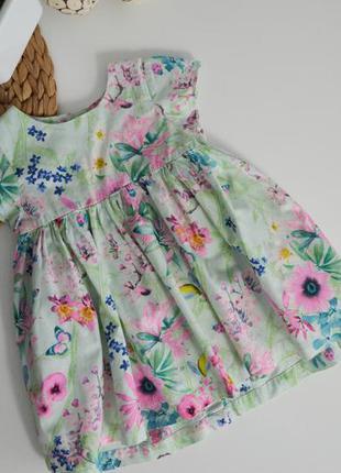 Платье некст на 6-9мес.