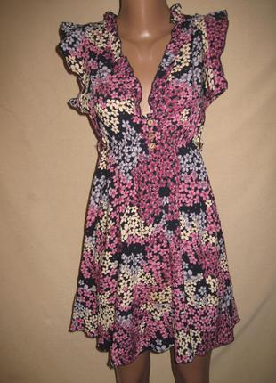 Вискозное платье izabel р-р8-10