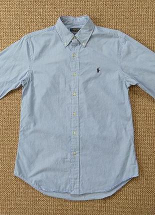Ralph lauren рубашка slim fit оригинал (m)