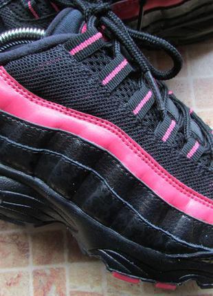 Кроссовки nike air max 95 для девочки длина по стельке 24,5 см