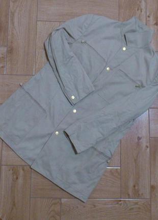 Пиджак мужской бежевый пальто куртка плащ gianni versace vinta...