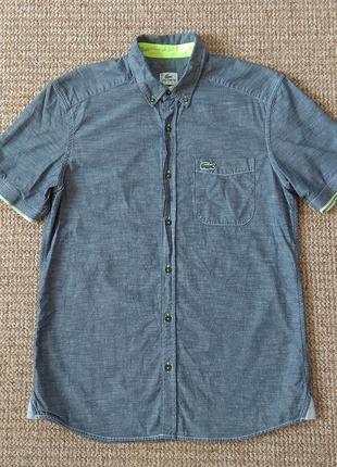 Lacoste рубашка тенниска оригинал (m)