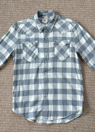 Levi's тканая рубашка оригинал (m)