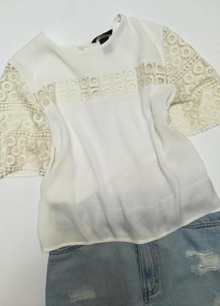 Легка літня біла блуза фірми h&m розмір s.