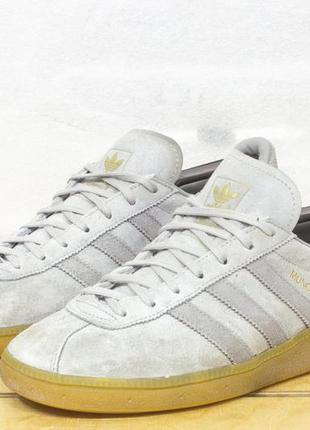 "Adidas originals munchen ""solid grey"" р 42 - 26,5 см кроссовки..."
