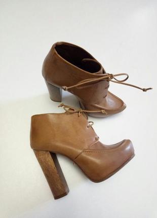 Красивые ботинки, ботильоны от schutz, кожа