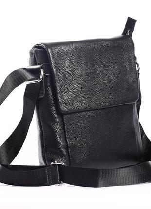 Мужская кожаная сумка-планшетка