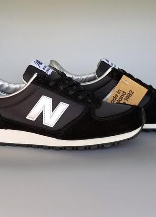 Кроссовки оригинал new balance mncsks made in england black/si...