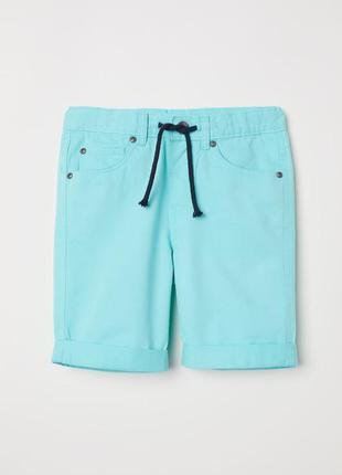 164 см хлопковые шорты для подростка h&m