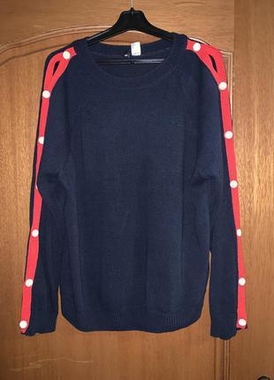 Модный и стильный свитер джемпер свитшот❤️100% катон