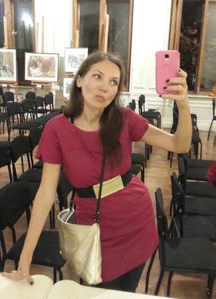 Стильное теплое платье-футляр zara