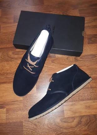Замшевые ботинки ugg m16 m17