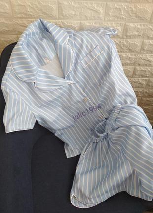 Женская пижама двойка жіноча піжама домашній одяг