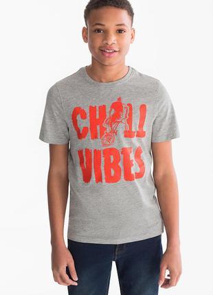 146/152, 158/164 см футболка на подростка c&a